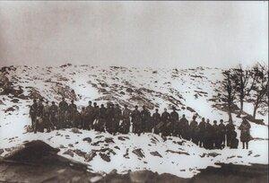 Болгарские добровольцы в горах Стара планина
