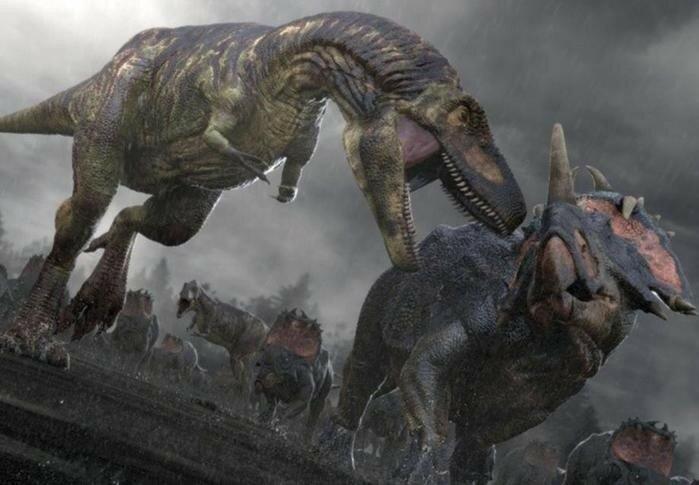 Родственники тираннозавров оказались каннибалами