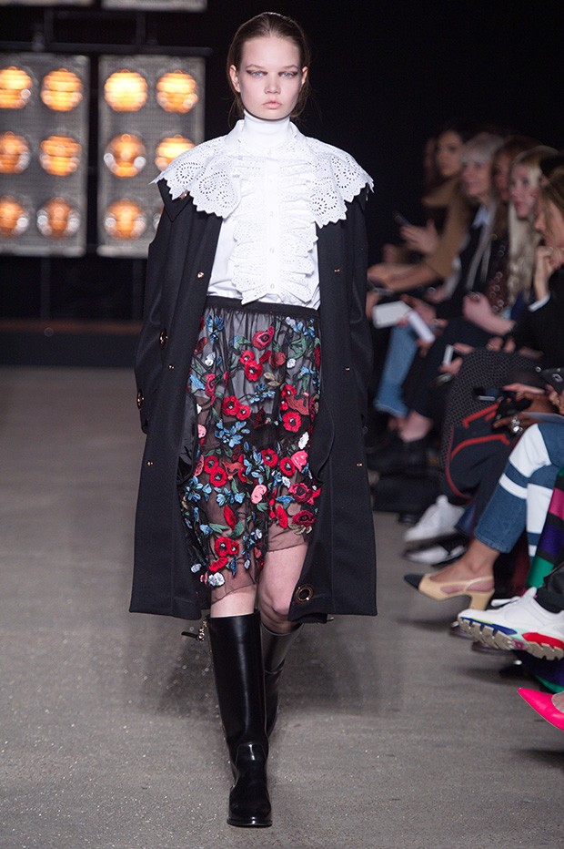 #LFW Osman Fall Winter 2016 collection - Design Scene - Fashion, Photography, Style & Design