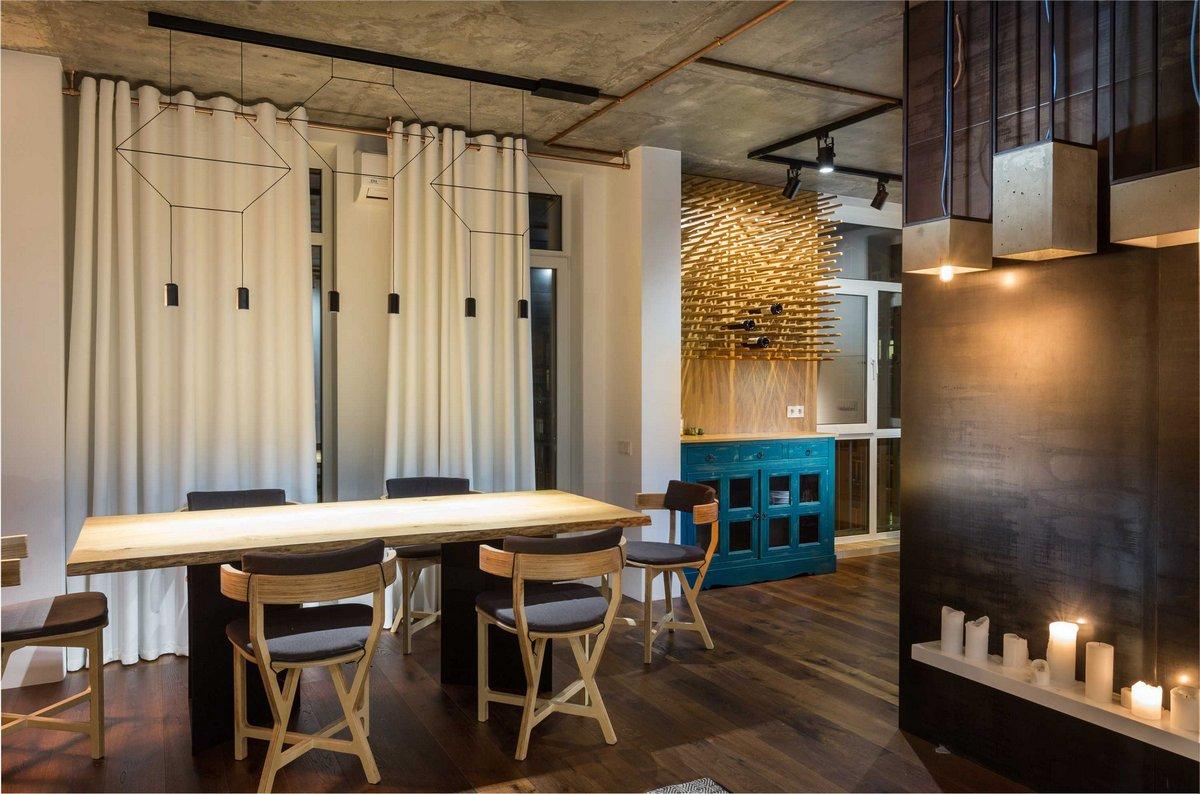 SVOYA Studio, гамак в квартире, современные интерьеры квартир фото, интерьер двухкомнатной квартиры фото, красивые квартиры мира, True Apartment