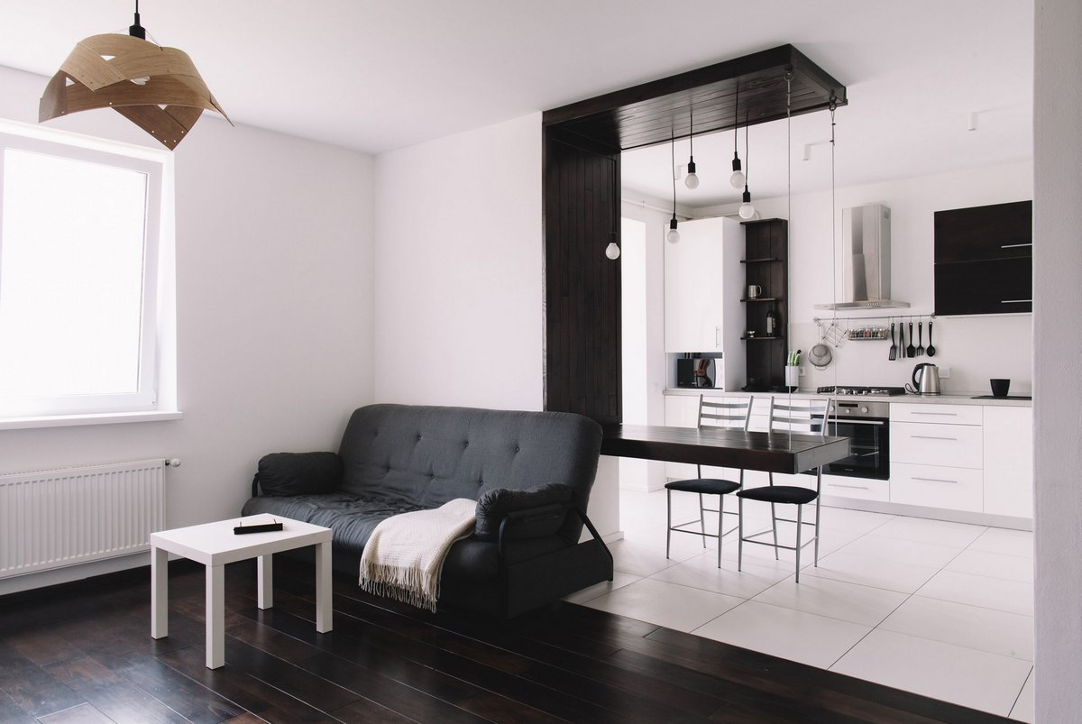 Apartment 99, Formaline, красивые квартиры Львов, красивые квартиры Украина фото, интерьер квартиры минимализм фото, черно-белый интерьер квартиры