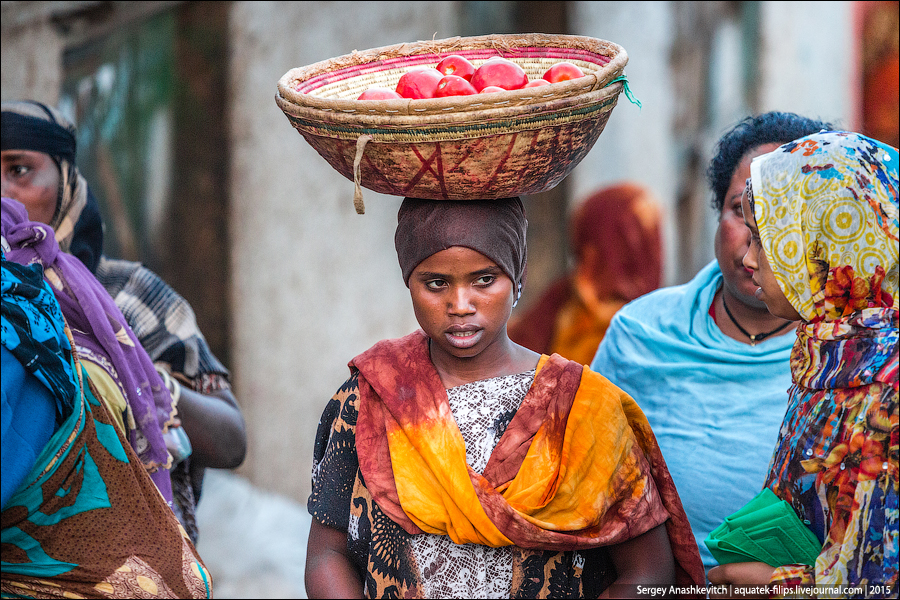 Африканский рынок