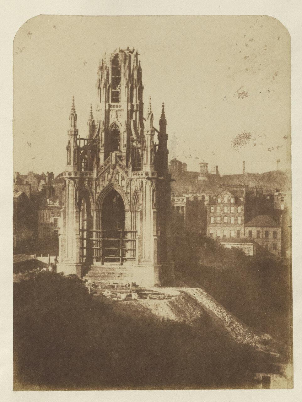 Эдинбург. Монумент Скотта, Эдинбург