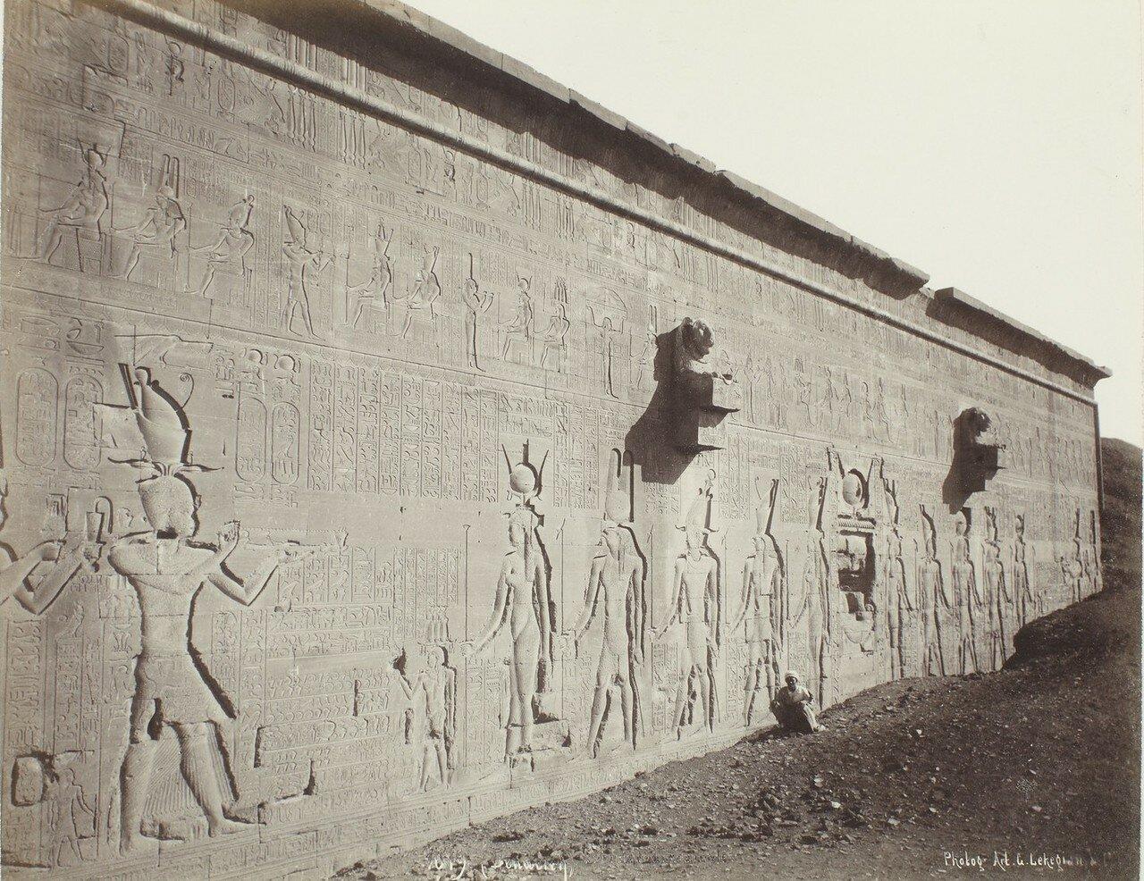 1900. Задняя сторона храма
