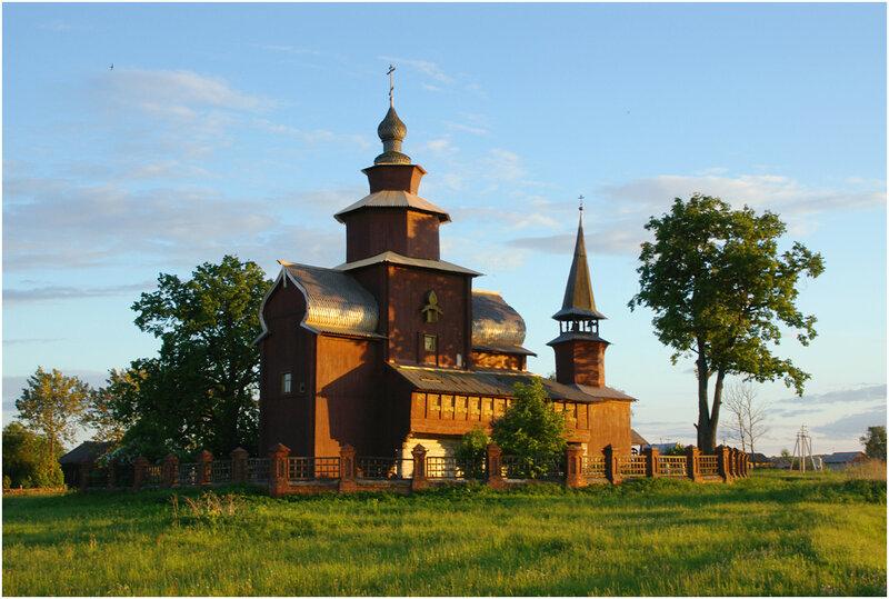 Церковь Иоанна Богослова в селе Богослов