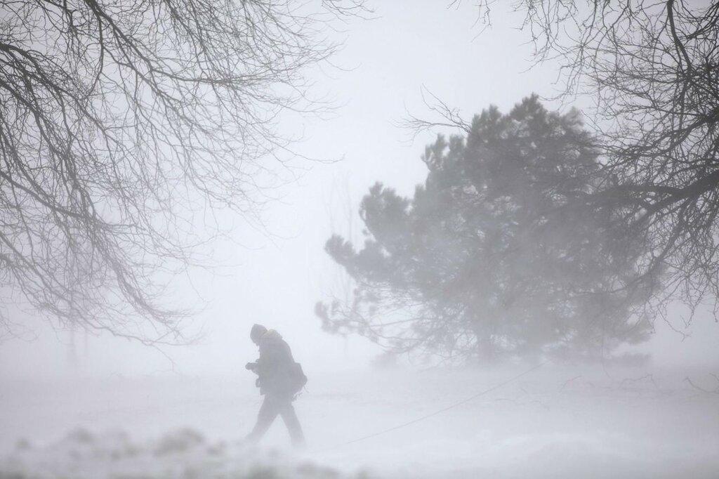 Tempesta di neve a Chicago