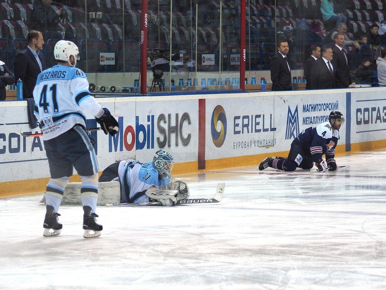 17Восток 1/2 плей-офф Металлург - Сибирь 08.03.2016