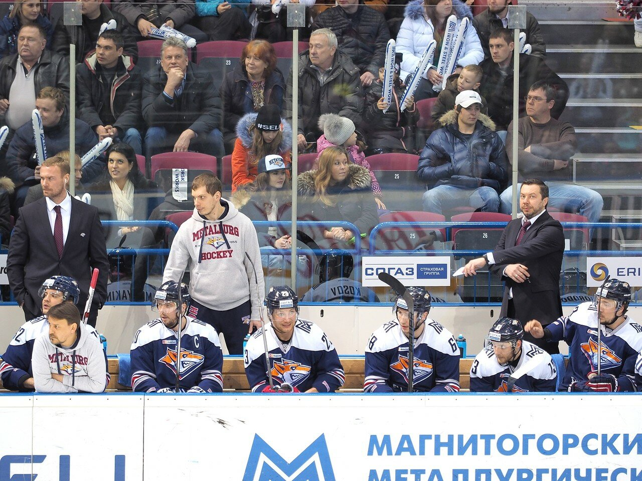 70Восток 1/2 плей-офф Металлург - Сибирь 08.03.2016