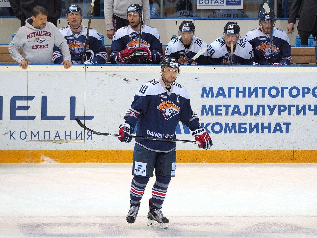 55Плей-офф 2016 Восток 1/2 Металлург - Сибирь 16.03.2016
