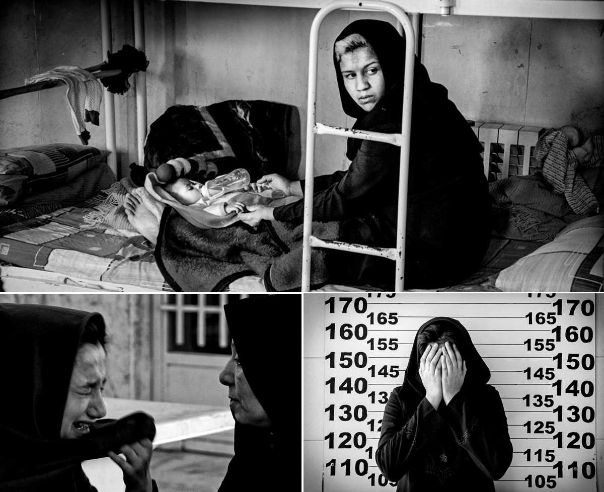 Девочки, ожидающие смертную казнь в Иране