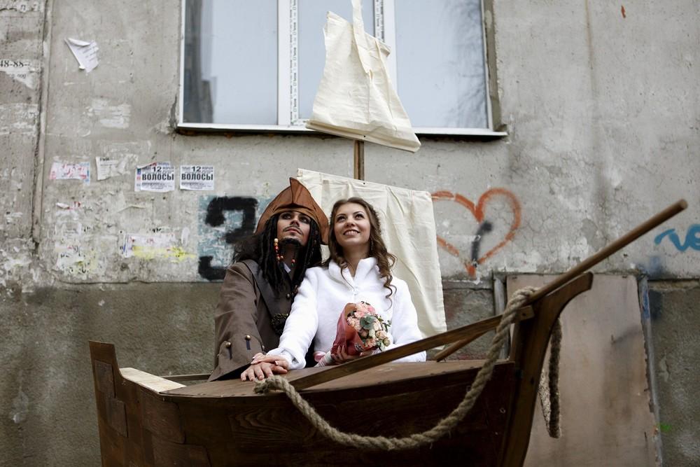 Пиратская свадьба в Ставрополе