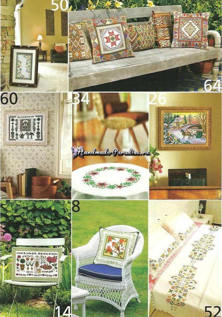 Вышивка крестом. Журнал KANAVICE 1-2012