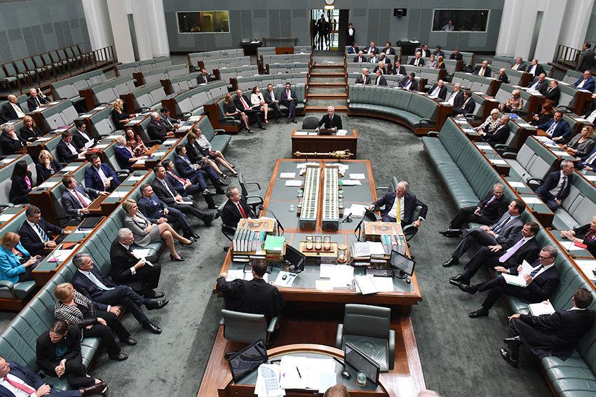 В Австралии депутатам разрешили приводить на заседания детей