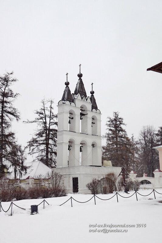 Звонница, Усадьба Вяземы, музей-заповедник А.С.Пушкина