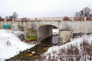 Каменный мост 1820 г., Усадьба Вяземы, музей-заповедник А.С.Пушкина