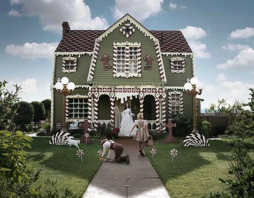 Сказочный дом к Рождеству