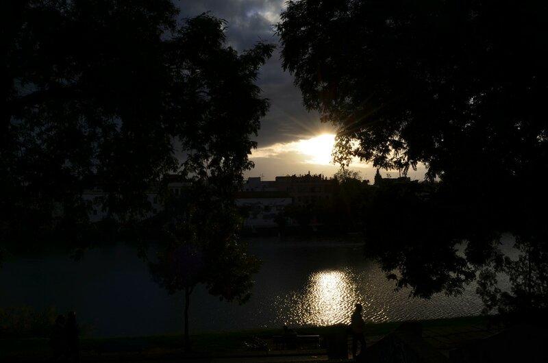 Вечер на речке