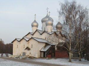 Борисоглебская церковь - Новый год в Великом Новгороде