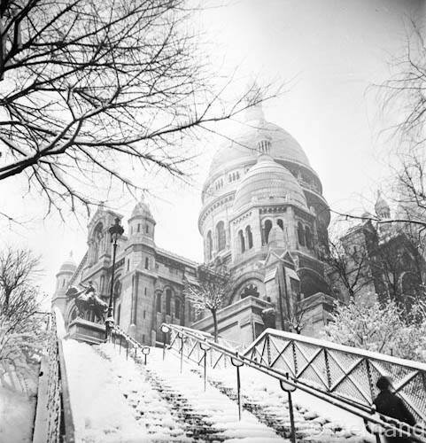 Paris, Montmartre 1941