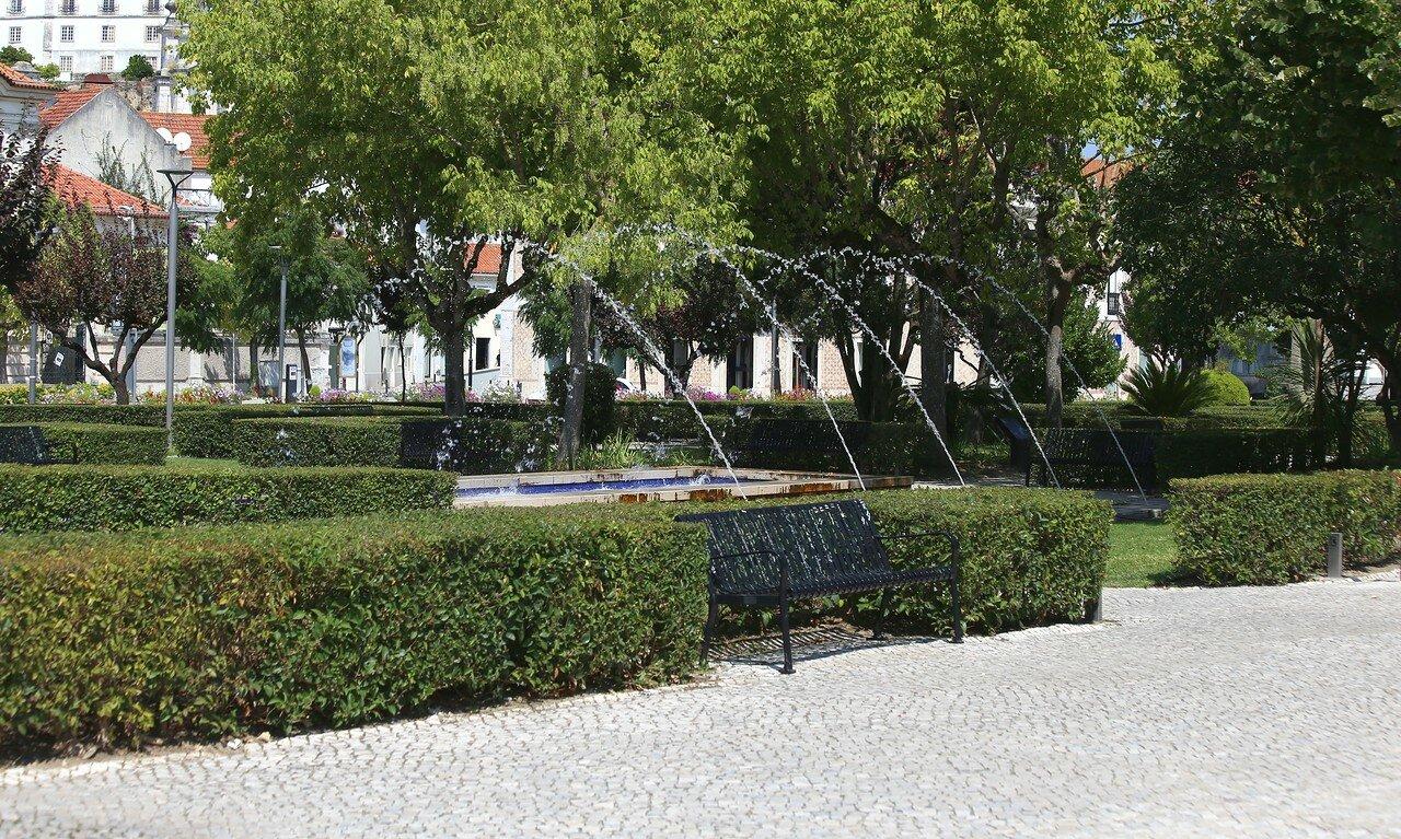 Jardim Luís de Camões, Leiria