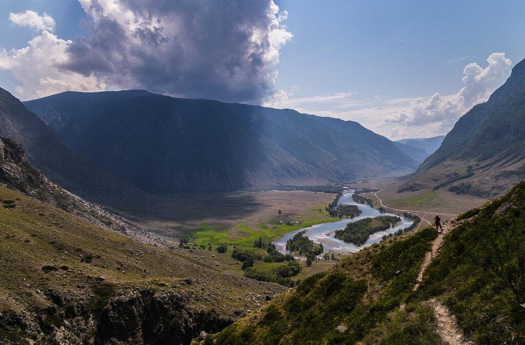 Вид на долину Чулышмана