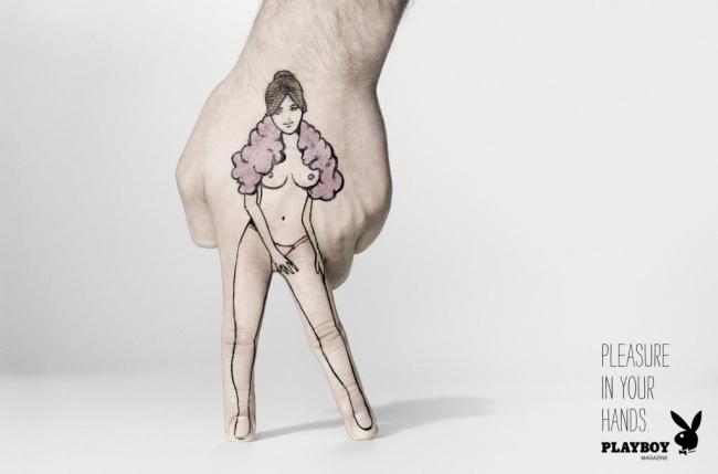Удовольствие вваших руках. Playboy