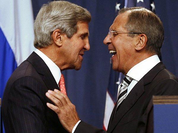 Лавров: РФ  иСША выступают зацелостность Сирии иИрака