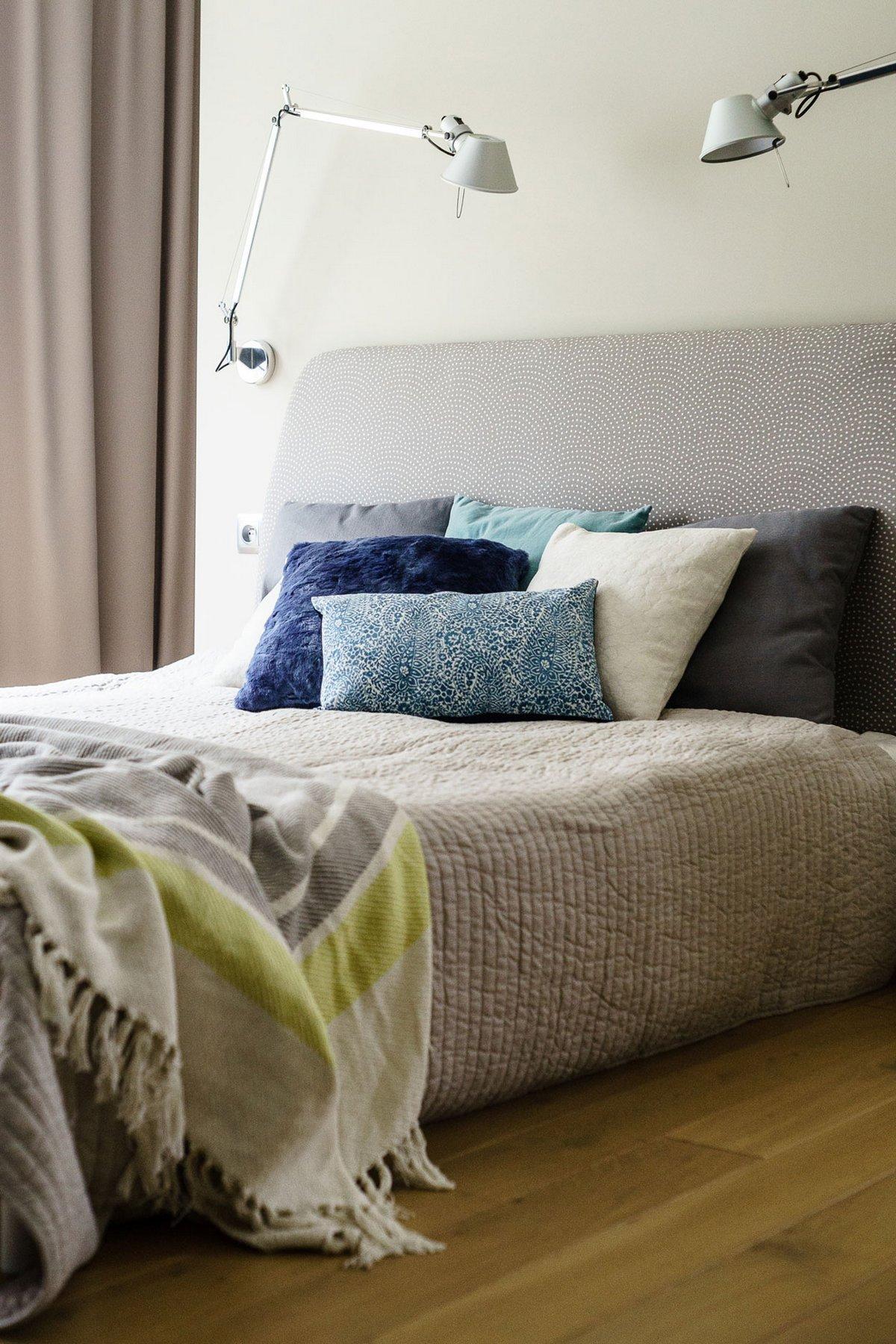 Fabryka Wnetrz, нейтральный дизайн интерьера, современный дизайн спальных комнат фото, дизайн спальной кровати, современный дизайн детской комнаты
