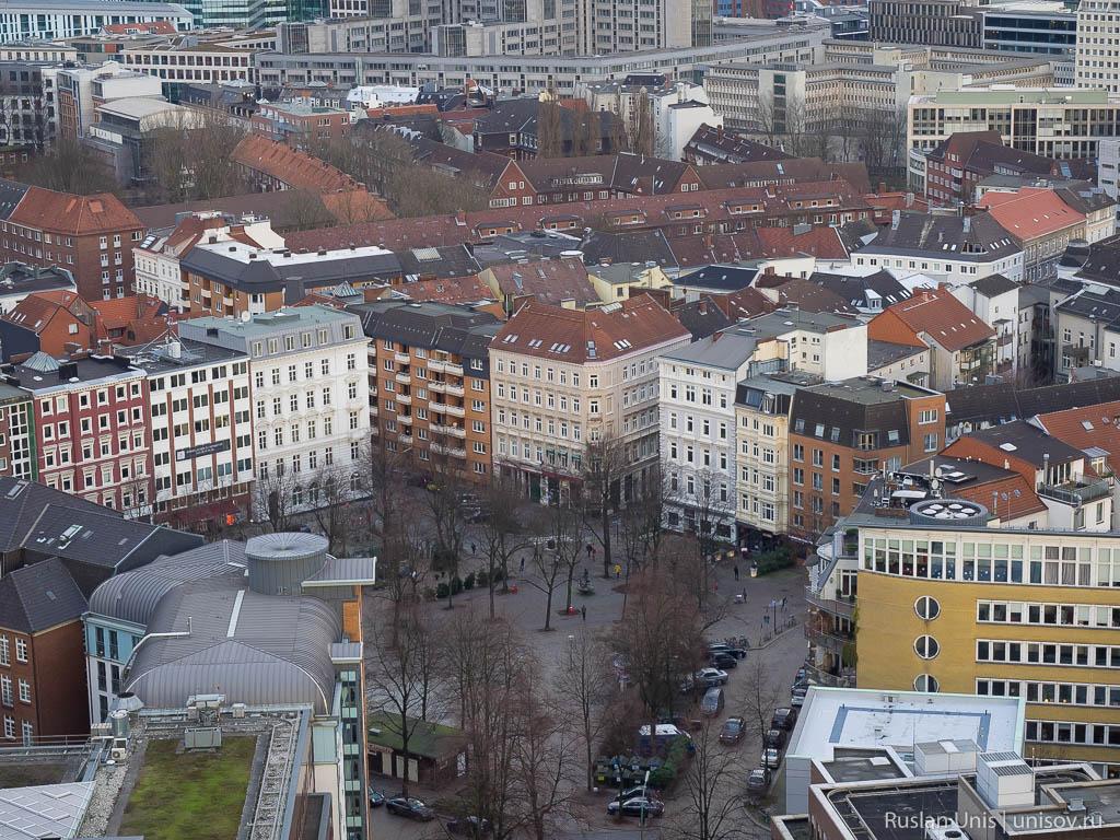 Гамбург с высоты