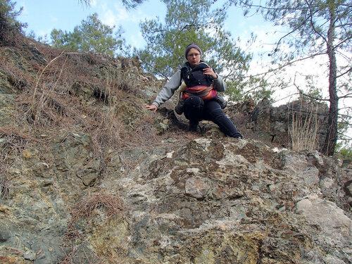 переноска Emeibaby в горах