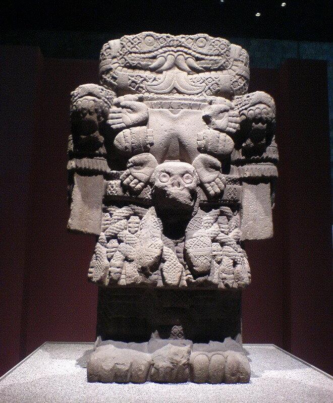Национальный музей антропологии в Мехико