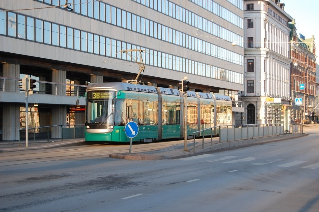 Трамвай кольцевого маршрута 3В