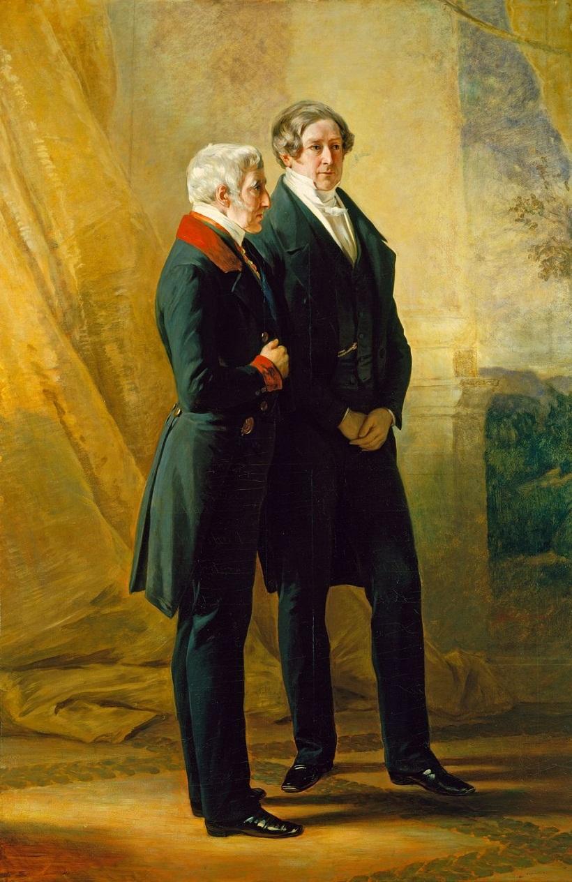 Винтерхальтер (1805-73)Артур Уэлсли, 1-й герцог Веллингтон, с сэра Роберта Пила  1844