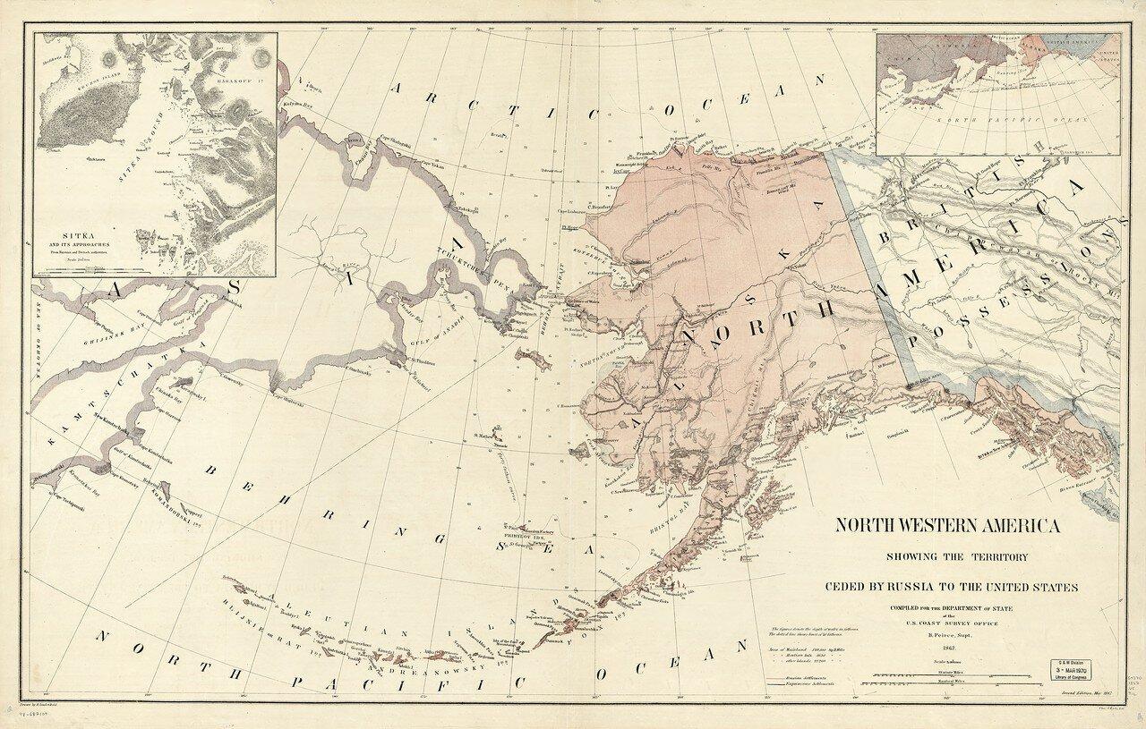 Maps Of Alaska From Russia To America Parnas Alternative - Map of us including alaska