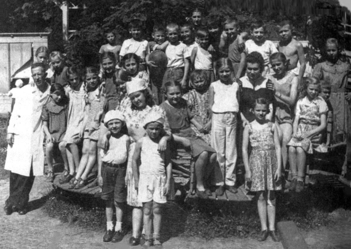 1948. В детском санатории г.Бад-Эльстер, Германия.  май-июнь