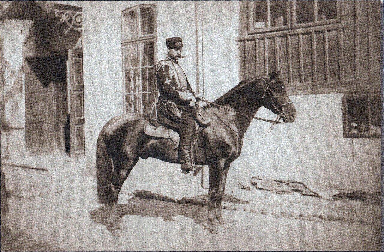 23.  Болгарский воевода из свиты великого князя Николая Николаевича, октябрь 1877