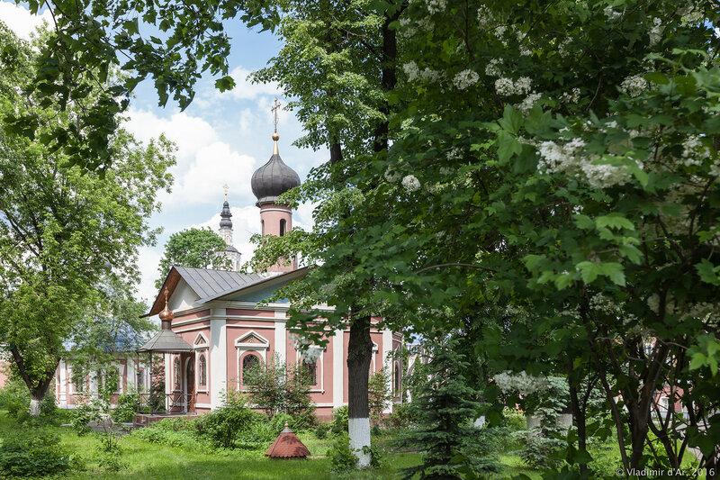 Храм святителя Тихона, Патриарха Всероссийского. Донской монастырь.