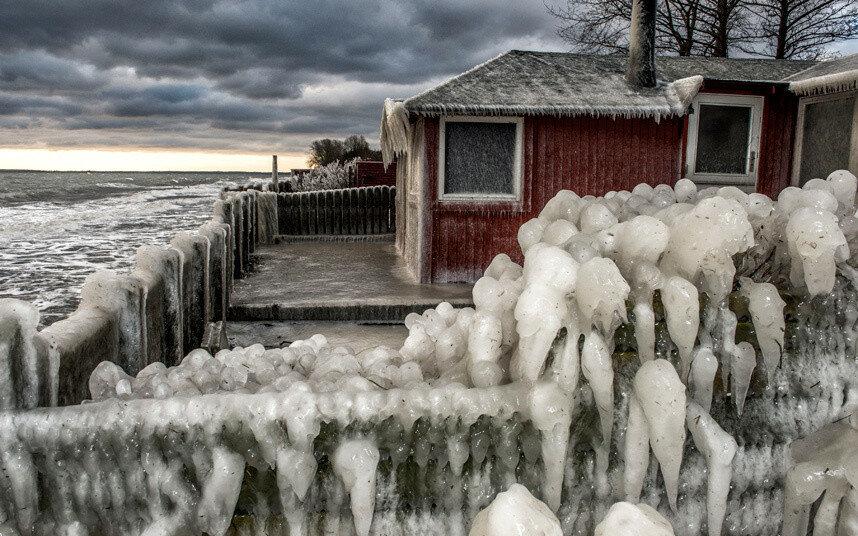 APTOPIX Denmark Weather