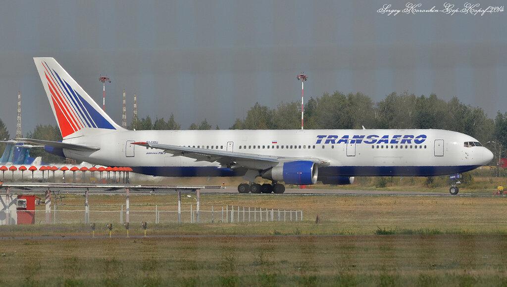 Boeing 767-37E Transaero EI-DBU