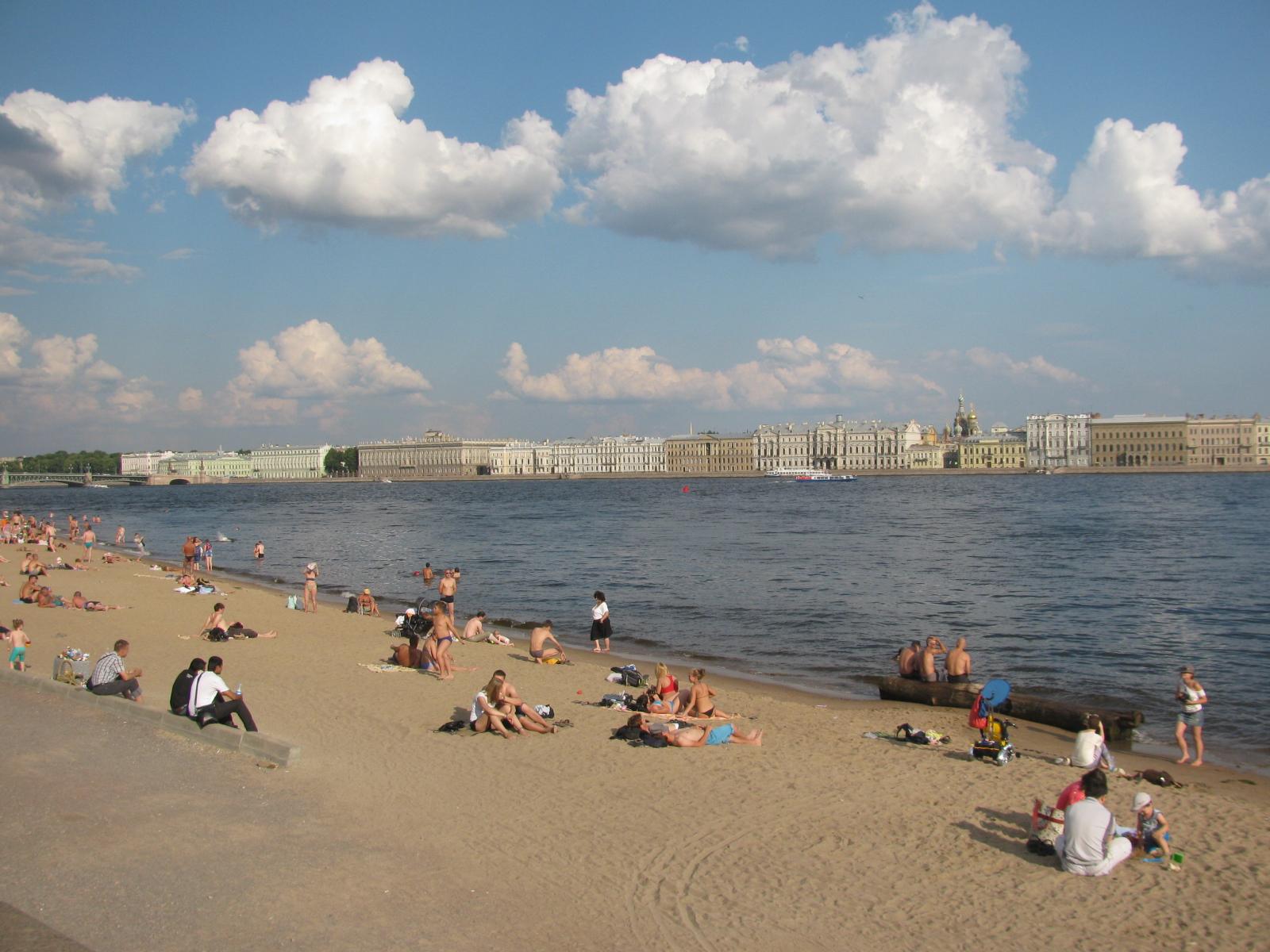 Пляж морские дубки фото
