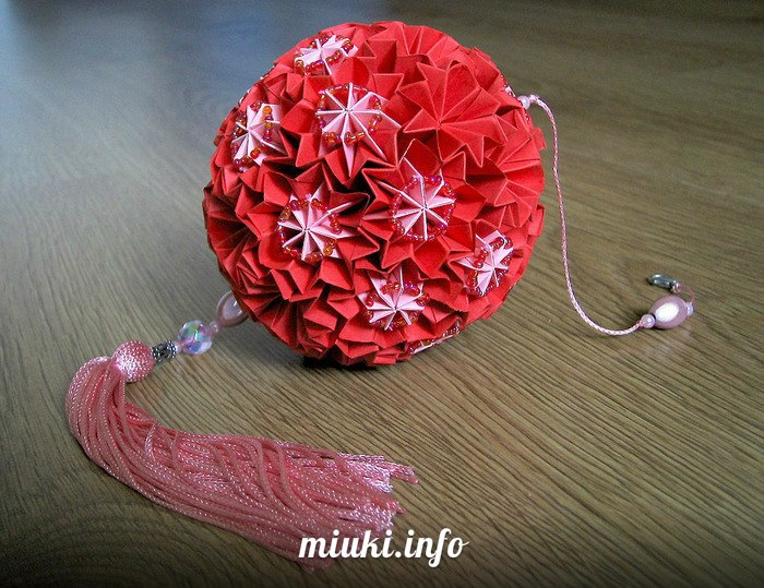 Волшебные шары Кусудамы