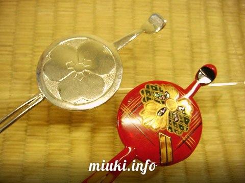 Канзаши - японские заколки шпильки