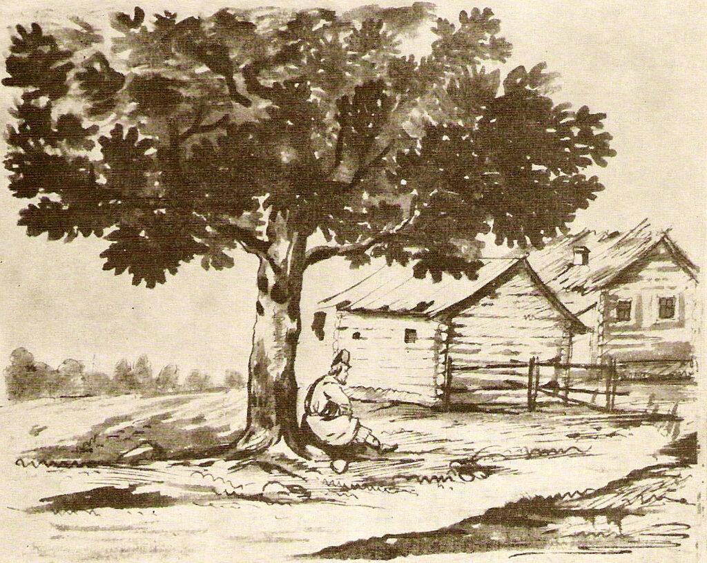 Крестьянин под деревом.jpg