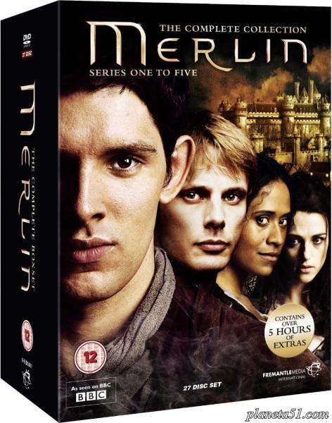 Мерлин (1-5 сезоны: 1-65 серии из 65) / Merlin / 2008-2011 / ПМ (ТВ3) / DVDRip + WEB-DLRip