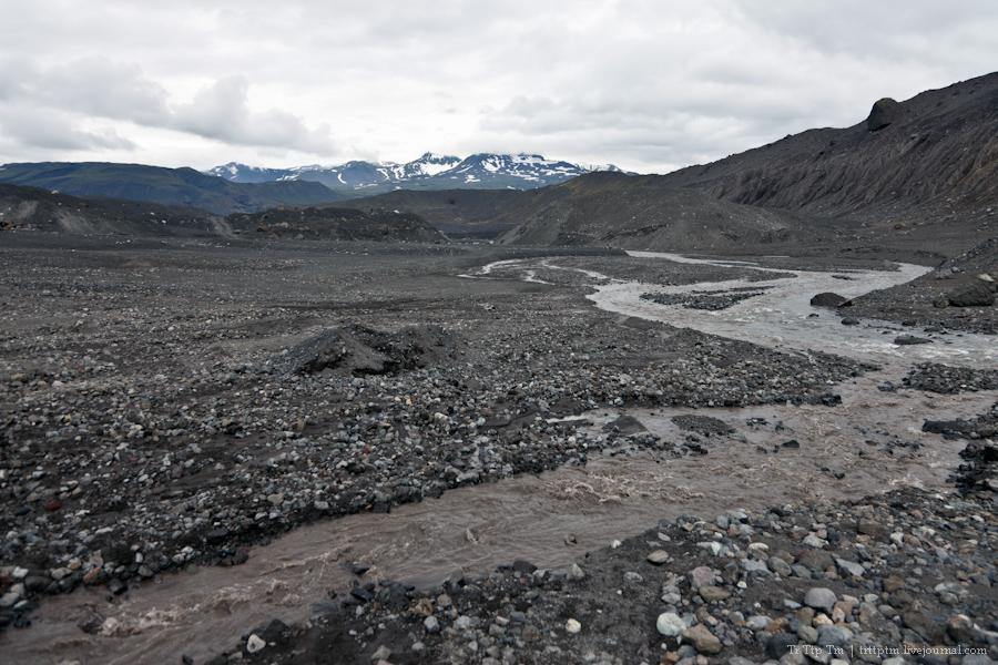 10. Ледники и водопады Эйяфьядлайокудля.
