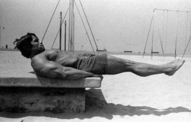 Редкие старые фотографии Арнольда Шварценеггера