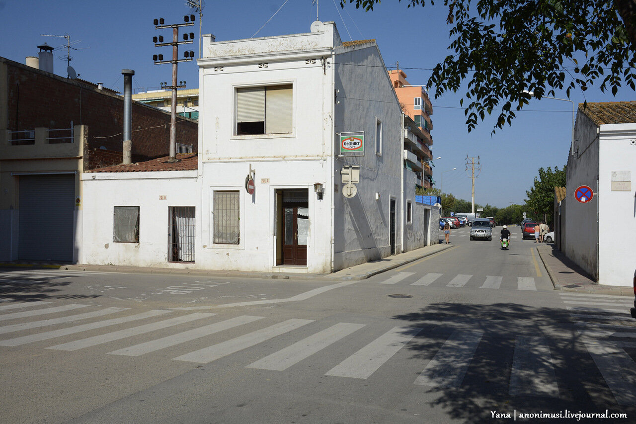 Дорога в ресторан Вок в Калелье