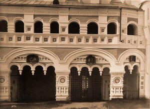 Вид части Святых ворот в Борисоглебском монастыре. Ярославская губ.