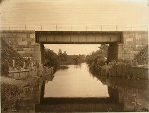 Вид железнодорожного моста через реку Ящеру на 89-й версте.