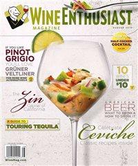 Журнал Журнал Wine Enthusiast №8 (август 2010) / US